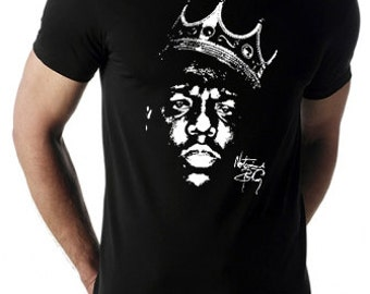 Biggie Smalls aka The Notorious B.I.G. - T-Shirt or Tank Top -- American Apparel