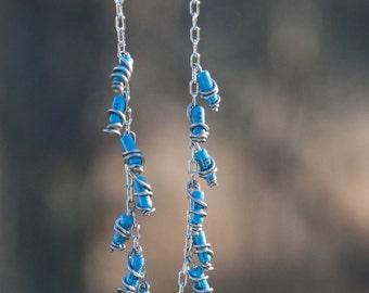Blue Resistors Necklace