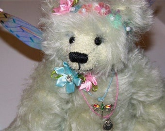 Twinkie Fae- OOAK Sudey Babe Mohair Faerie Bear
