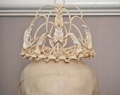 Memento Mori bone crown tiara wedding ornament,goth,fantasy