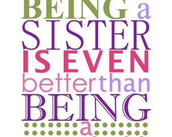 Being a Sister Artwork