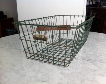 Green Wire Basket