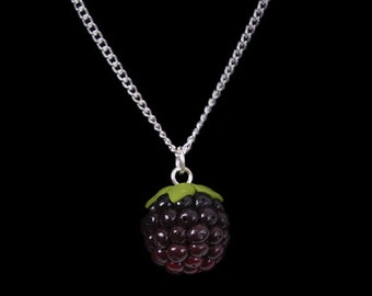 Autumn Blackberry (Bramble) Necklace