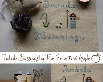 Imbolc Blessings - Cross Stitch E-Patterns