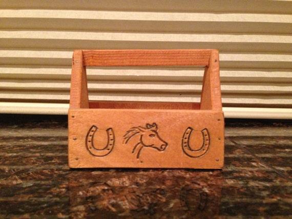 Vintage Handmade Miniature Tool Box