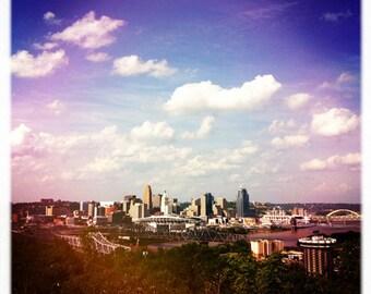 Cincinnati Skyline from Devou Park