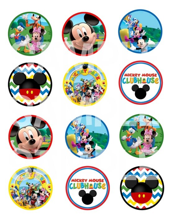 Etsy - Your place to buy and sell all things handmade ...Mickey Mouse Cupcake Toppers