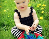 UNO first birthday shabby flower Headband / Newborn / Baby / Toddler / FOE