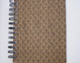 Mini Trees & Branches Fabric-Covered Notebook