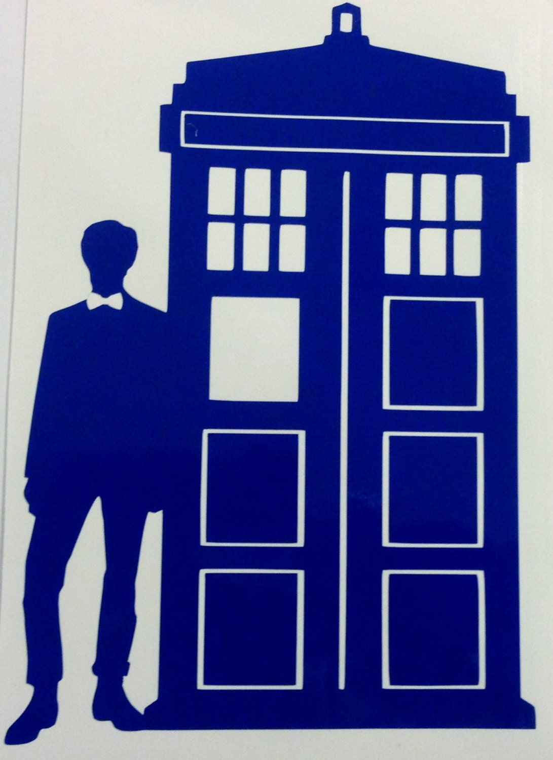 Doctor Who Inspired Eleventh Doctor And Tardis Decal
