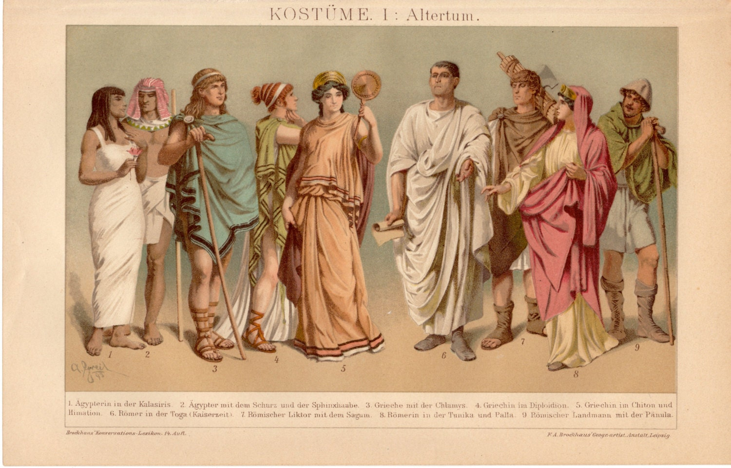 Roman Women Clothing  Ad