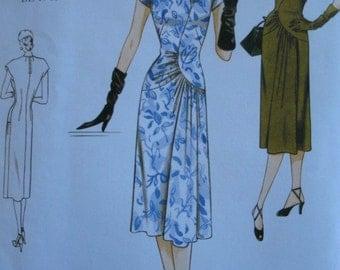 Vogue Original 1948 Dress Pattern, Reissue Sizes 18-22 Vogue 2787