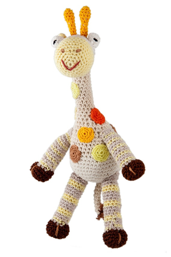 Hand Made giraffe doll crochet amigurumi stuffed animal