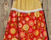 Hello Sunshine Flutter Sleeve Dress, sizes 6-12 months, 18 months, 2, 4, 6