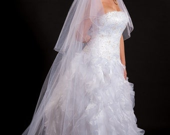 2 Layer Floor Length Veil