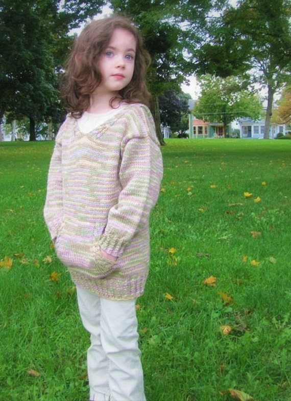 Baby Bear Hoodie Knitting Pattern : Baby Bear Hooded Sweater Knitting Pattern PDF