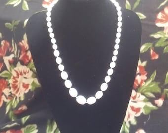 Retro large plastic beads / necklace
