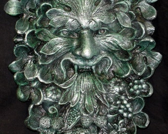 Greenman Architectural Wall Plaque