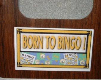 BIngo Refrigerator Magnet (Business Card Size)