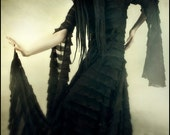 Darkly Ethereal Black Suspiria Gown by Kambriel - Designer Sample - Brand New & Ready to Ship!