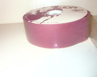 "Vintage Light PUCE  Velvet Ribbon 1 15/16"" DIY Wedding Crafts Gift Wrap Wreath Bow 25 yard spool CIJ"