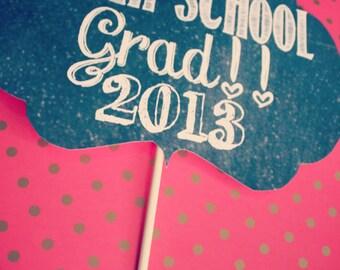 Printable High School Grad Sign - 2017