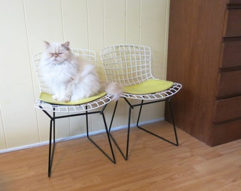 pair of mini bertoia chairs