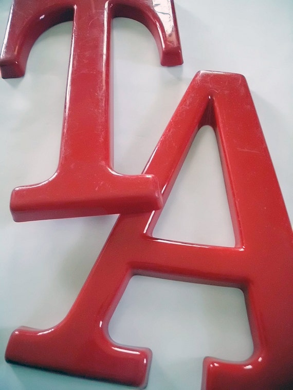 letters large vintage sign letter numbers by With large sign letters