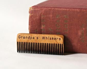 Grandpa's Beard Comb - Gift for Grandpa - Gift for a new Grandfather - New Grandpa Gift - Grandpa Beard Care - Grandfather's Day