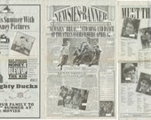 """Newsies the Musical Promotional Paper """"The Pape"""" handed out at World Premiere - Digital Copy"""
