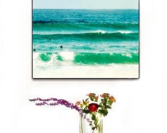 Surfer Art, Surfing Canvas Wall Art, Ocean Photography, Surfing Wall Are, Surfer Photography, Beach Decor, Surf Decor