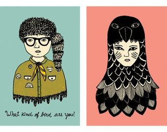 Moonrise Kingdom - Suzy and Sam - 14,8 x 21cm