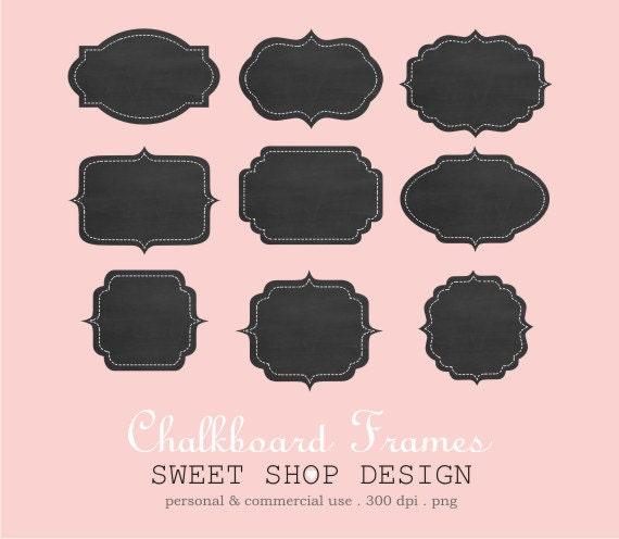 Chalkboard Clip Art Label Or Tag Clip Art Frames Clip Art