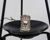 Sun Symbol Sterling Silver Ring