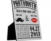 Photobooth Table Sign