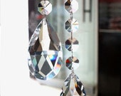 Chandelier Crystal Teardrop Prism Almond  Pendant - SET OF 10