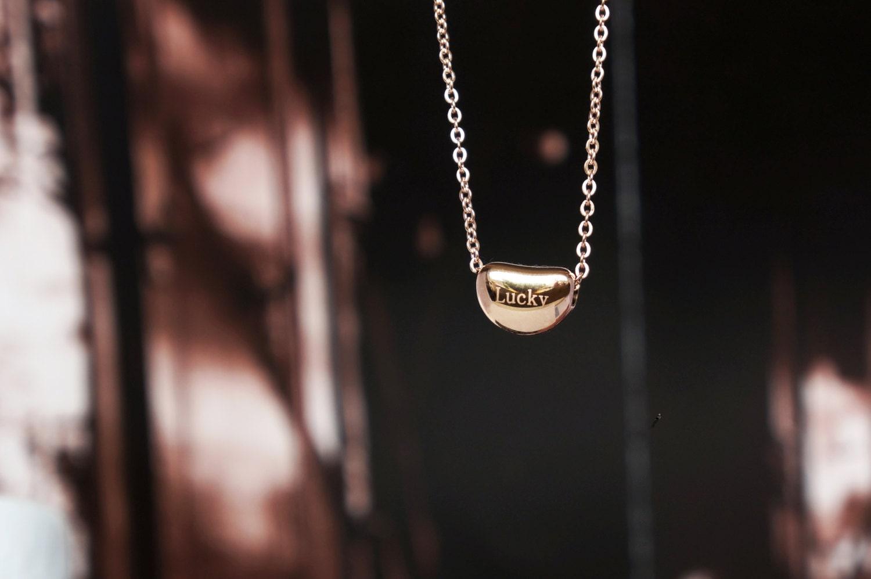 Tiffany Rose Gold Bean Earrings