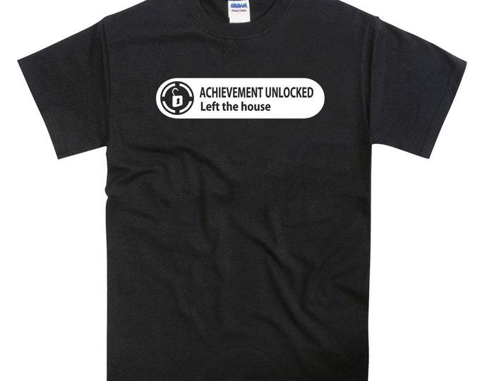 Xbox Achievement Left the House Tshirt