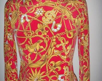 Dana Buchman  100% silk top