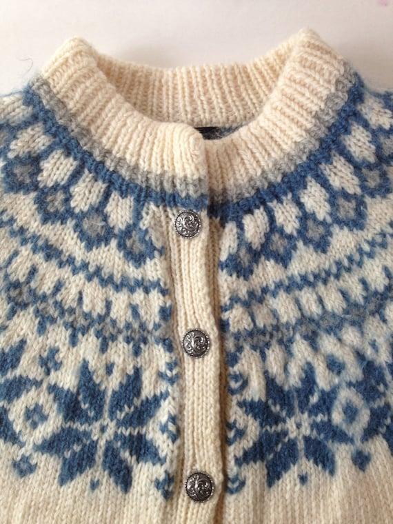Teal Cardigan Sweater