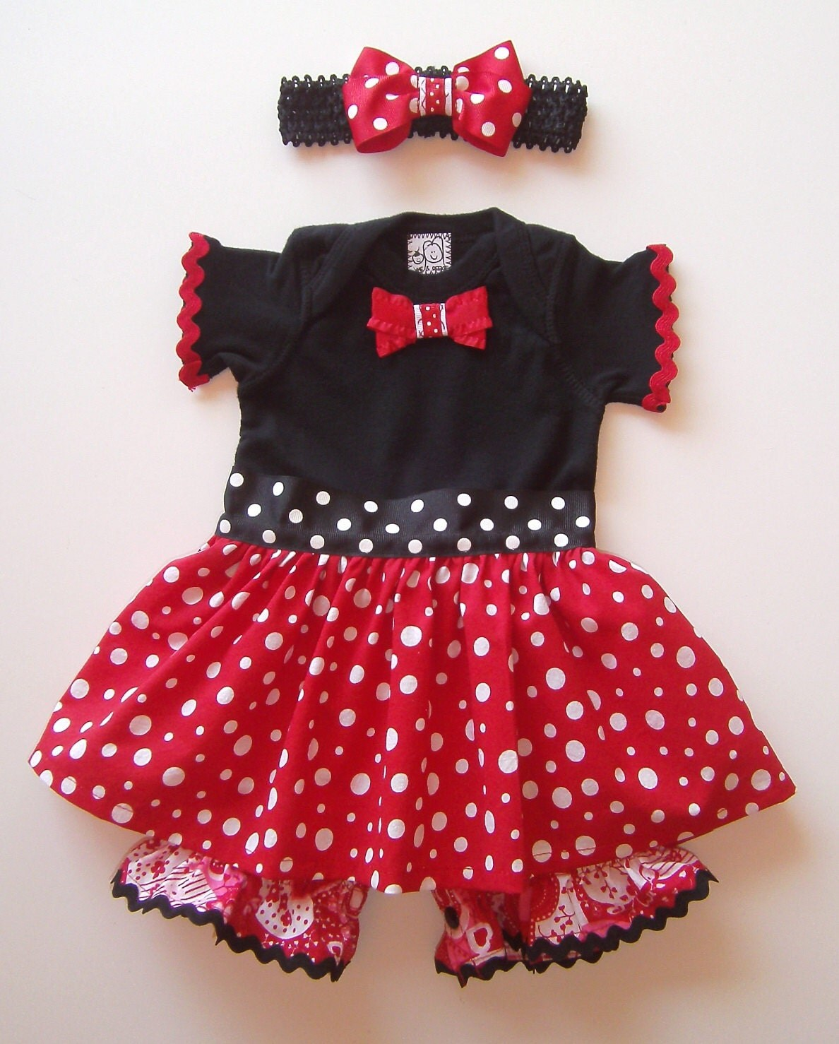 sweet baby minnie mouse costume romper skirt