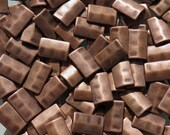 17x10mm (2mm hole) Antique Copper Base Metal Rectangle Beads - Qty 10 (G221)