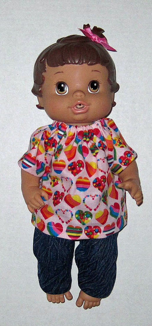 Baby Alive Doll Clothes Baby All Gone Brillant Rainbow Color