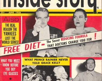 1956 INSIDE STORY MAGAZINE - Complete