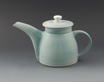 Large Functional Ceramic Teapot