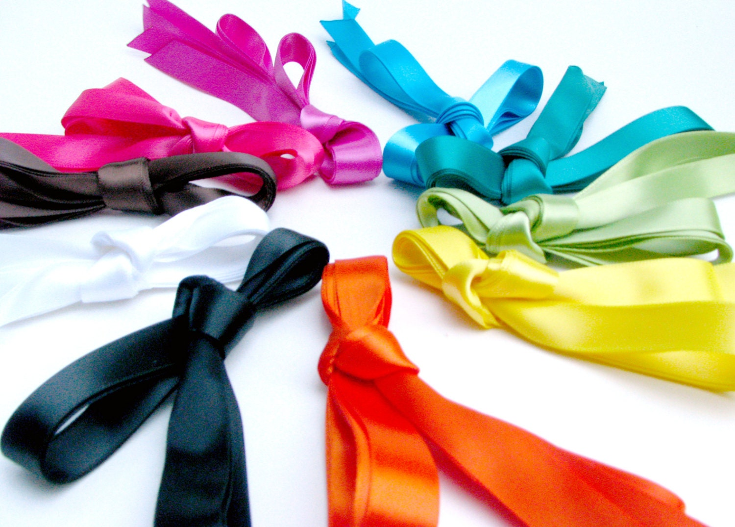 satin ribbon bright spectrum shoe laces tennis shoe length