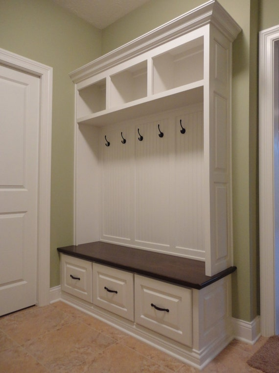 Mudroom Storage For Sale : Sale mudroom lockers bench storage furniture cubbies hall