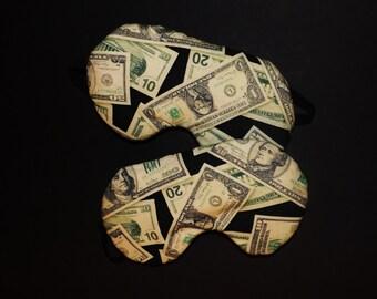 Cash Money Sleepmask - Comes with Pattern of Bills