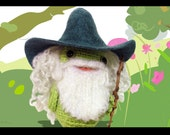 Gandalf hat and wig for Timmie Tadpole