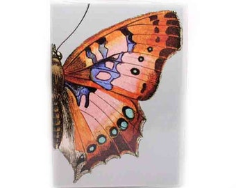 Passport holder - Fly Butterfly - women's passport cover - fits us passports
